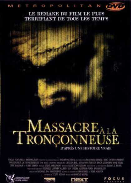 French DVDs - Massacre A La Tronconneuse