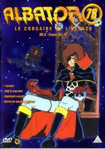French DVDs - Albator 78 Volume 6
