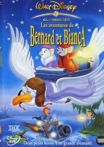 French DVDs - Bernard And Bianca