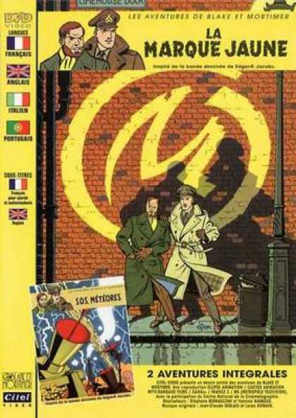 French DVDs - Blake And Mortimer The Adventures Of Vol 1