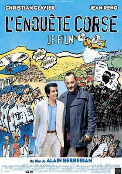French DVDs - L Enquète Corse