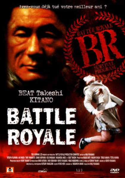 French DVDs - Battle Royale