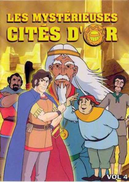 French DVDs - The Cities Of Mystery Vol 4