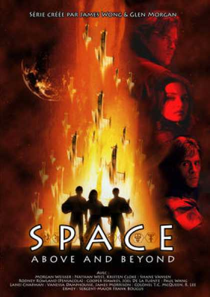 French DVDs - Space Above And Beyond