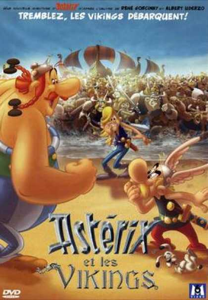 French DVDs - Asterix And The Vikings CUSTOM FRENCH SLIM