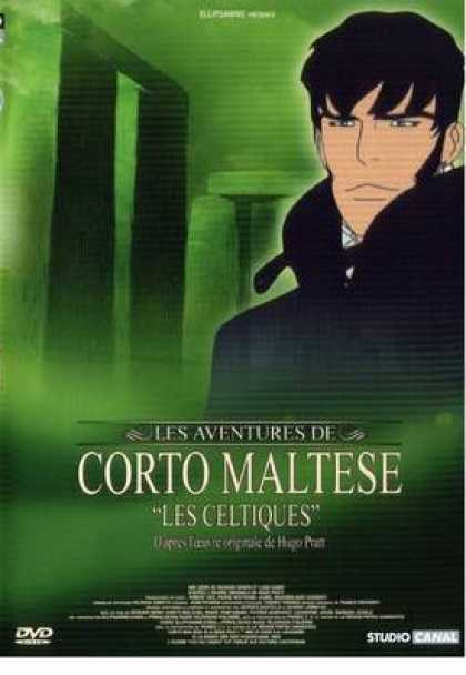 French DVDs - Corto Maltesse Les Celtiques