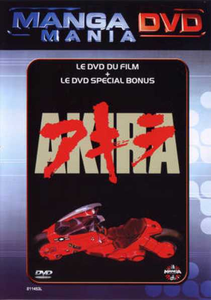 French DVDs - Akira