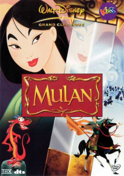 French DVDs - Mulan