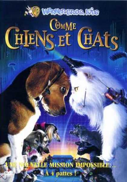 French DVDs - Cats And Dogs