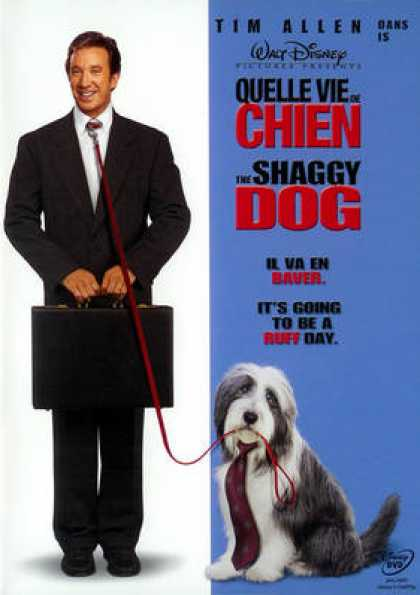 French DVDs - The Shaggy Dog