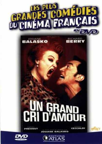 French DVDs - Un Grand Cri D'Amour
