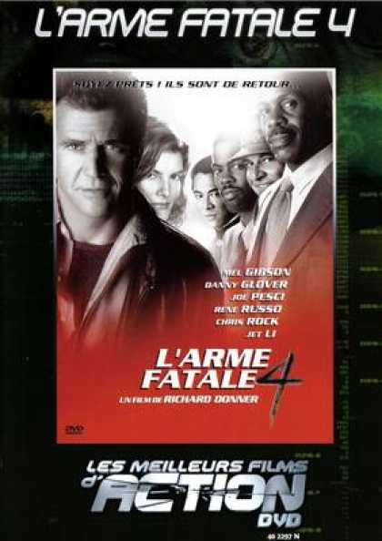 French DVDs - Lethal Weapon 4