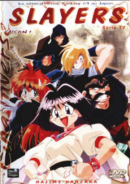 French DVDs - Slayers Season 1 Vol 3
