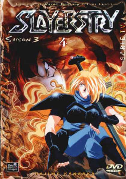French DVDs - Slayers Season 3 Vol 4