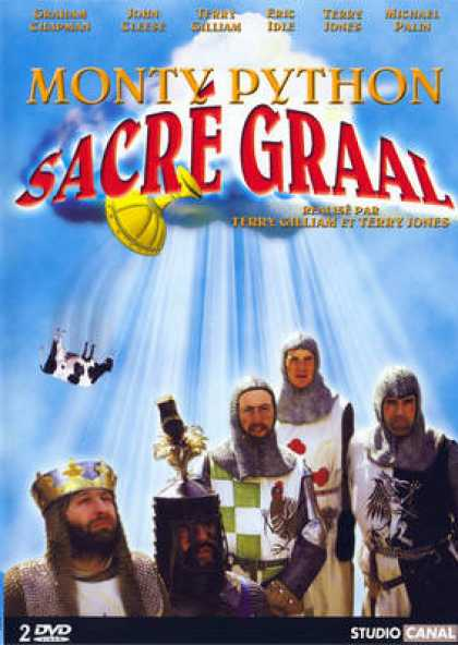 French DVDs - Monty Python Sacre Graal