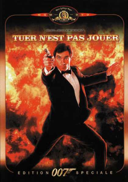 French DVDs - 007 James Bond - The Living Daylights