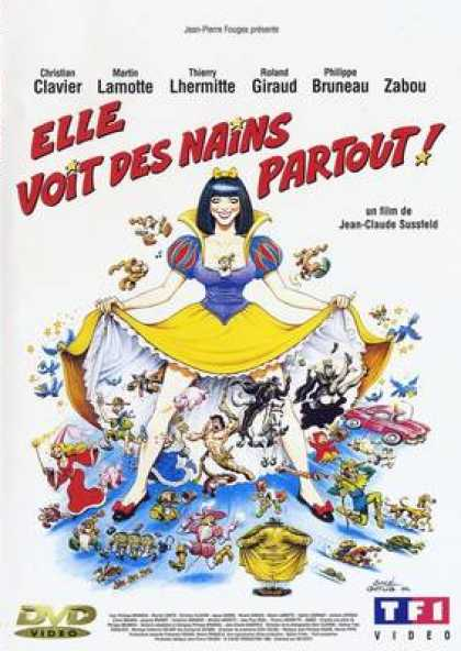 French DVDs - She Sees Dwarfs Everywhere
