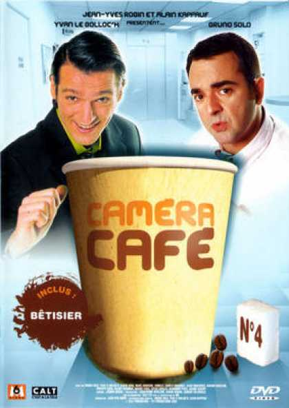 French DVDs - Camera Cafe Vol 4