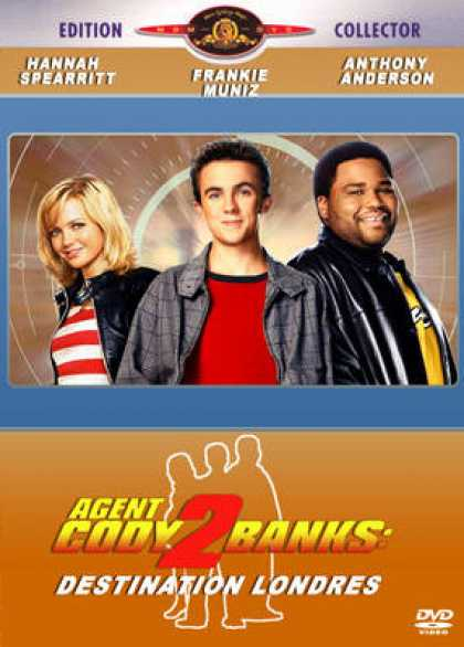 French DVDs - Agent Cody Banks 2