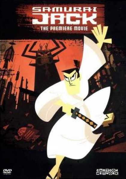 French DVDs - Samurai Jack The Movie