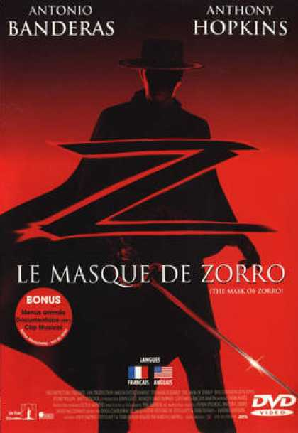 French DVDs - The Legend Of Zorro