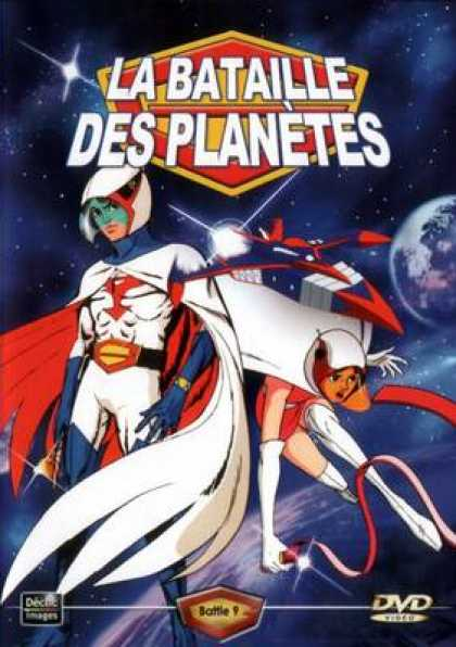French DVDs - The Battle For The Planets Vol 9