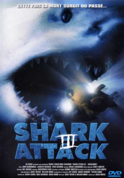 French DVDs - Shark Attack 3