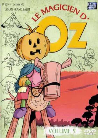 French DVDs - The Wizard Of Oz Cartoon Volume 9