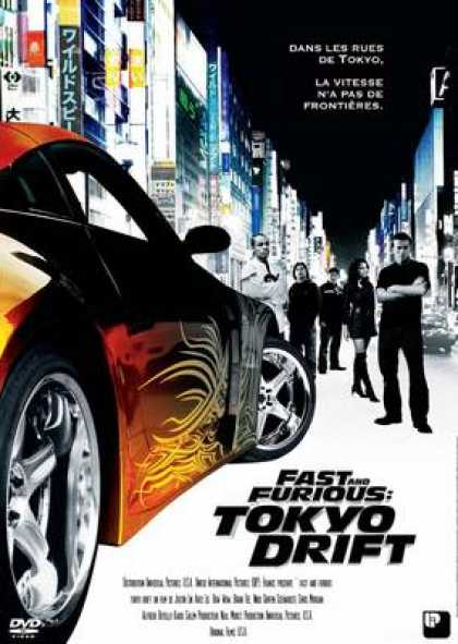 French DVDs - The Fast And The Furious : Tokyo Drift