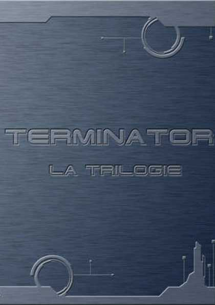 French DVDs - Terminator Trilogy