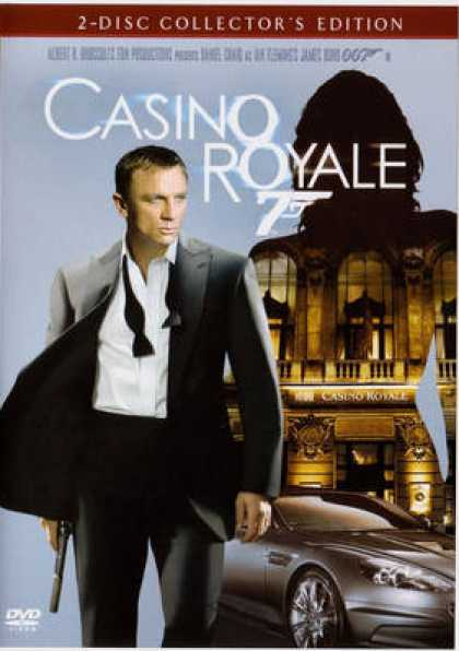 French DVDs - Casino Royale 2007