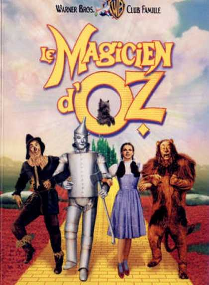 French DVDs - The Wizard Of Oz