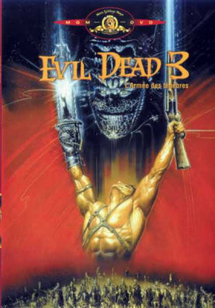 French DVDs - Evil Dead 3