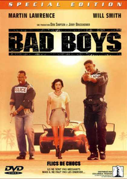 French DVDs - Bad Boys
