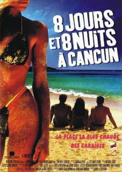 French DVDs - 8 Days And 8 Nights In Cancun