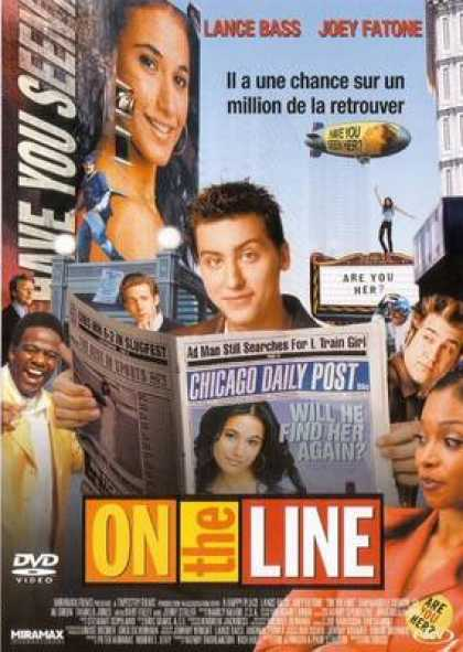 French DVDs - On The Line