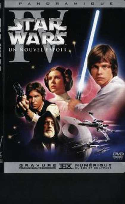 French DVDs - Star Wars 4 A New Hope French Canadian