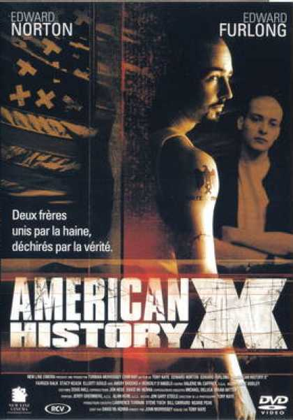 French DVDs - American History X