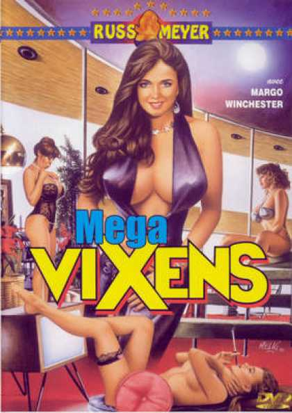 French DVDs - Mega Vixens FRENCH R2 REPLACEMENT
