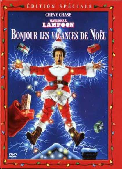French DVDs - National Lampoons Christmas Vacation