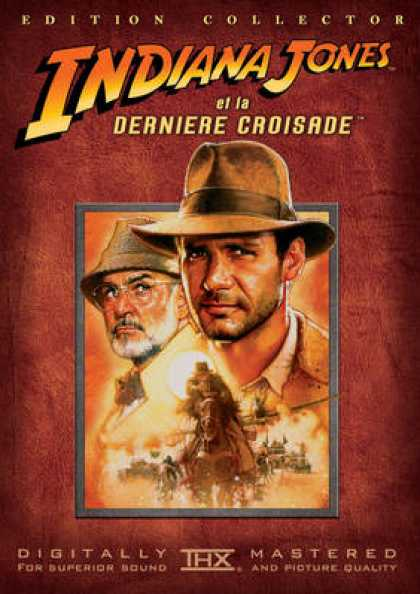 French DVDs - Indiana Jones And The Last Crusade