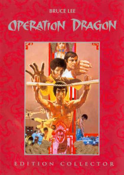 French DVDs - Operation Dragon CE