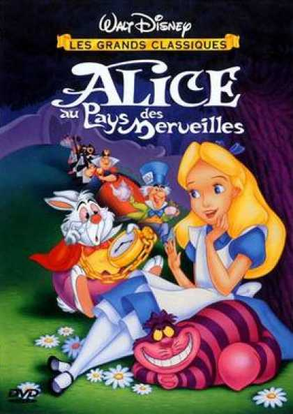 French DVDs - Alice In Wonderland