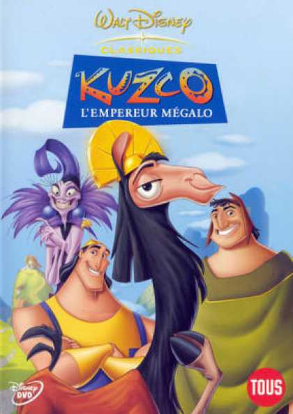 French DVDs - Kuzco