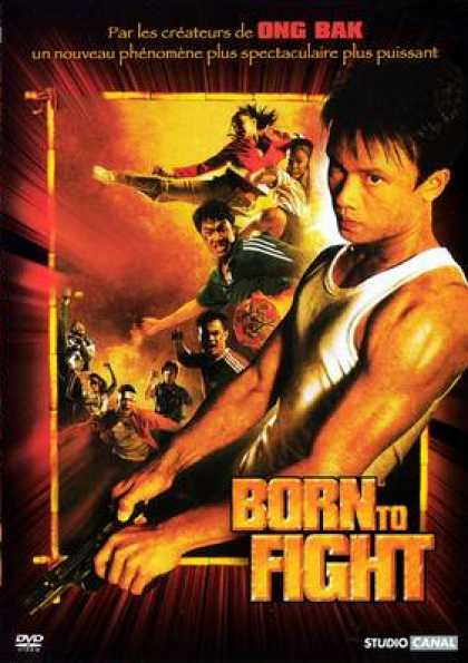 French DVDs - Born To Fight