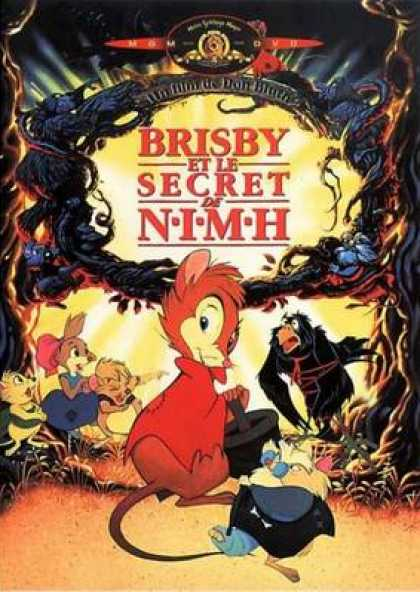 French DVDs - Brisby And The Secret Of Nimh