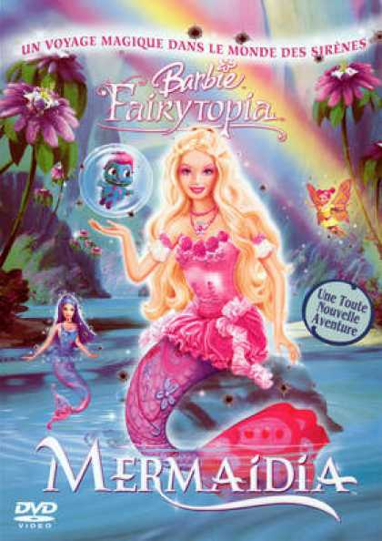 French DVDs - Barbie Fairytopia Mermaidia