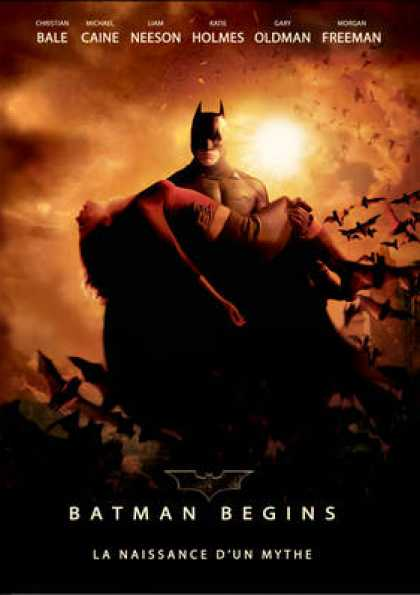 French DVDs - Batman Begins