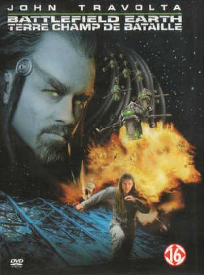 French DVDs - Battlefield Earth