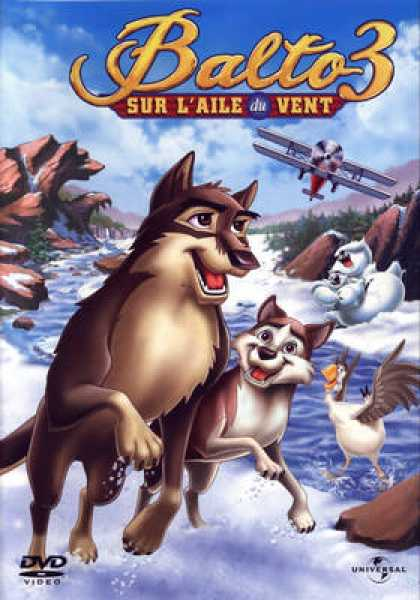 French DVDs - Balto 3